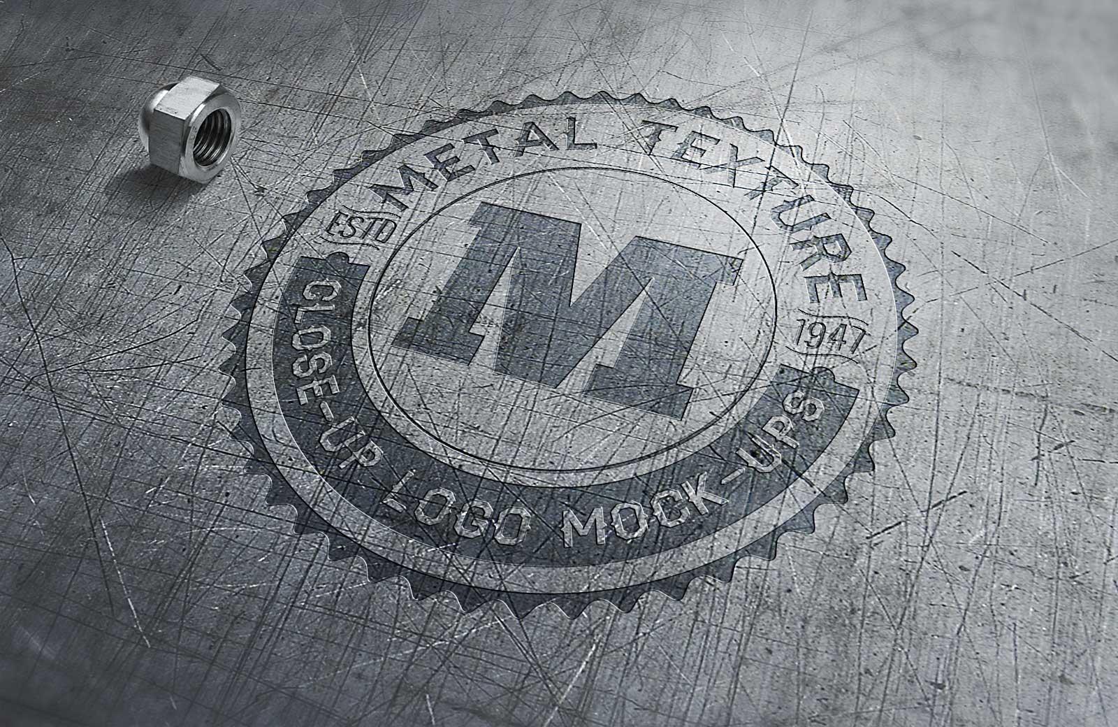 Free-Metal-Logo-Mockup-PSD