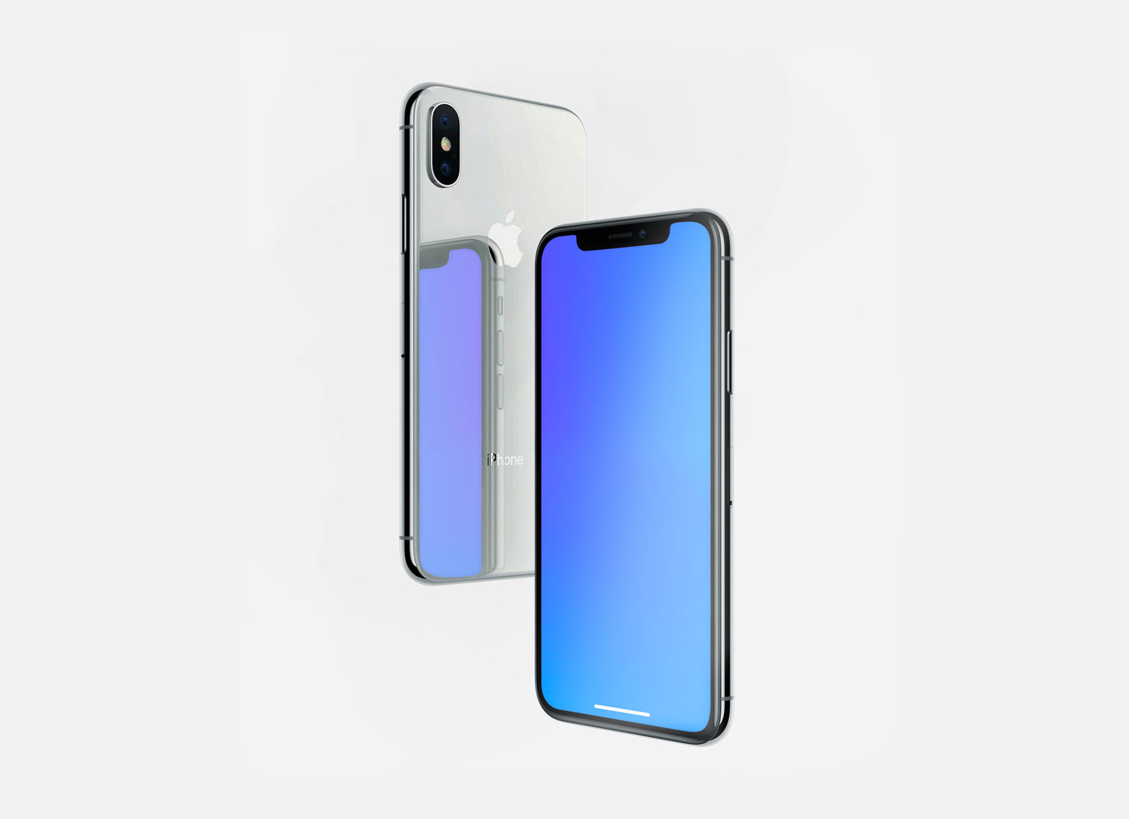 Free-Reflection-Apple-iPhone-X-Mockup-PSD