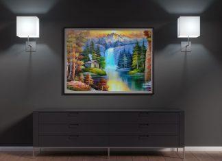 Free-Wall-Frame-Painting-Mockup-PSD-File