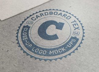 Free-cardboard-&-metal-sheet-logo-mockup-PSD-Files
