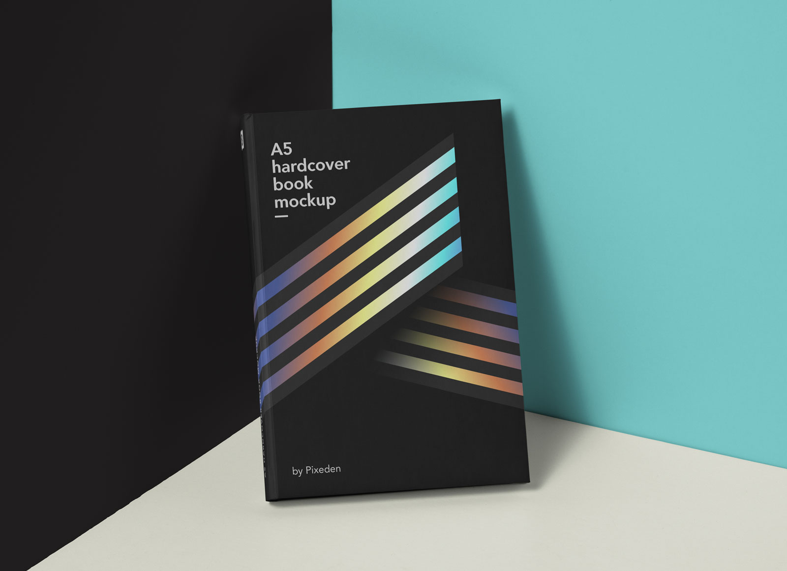 Free A5 Hardcover Book Mockup Psd Good Mockups