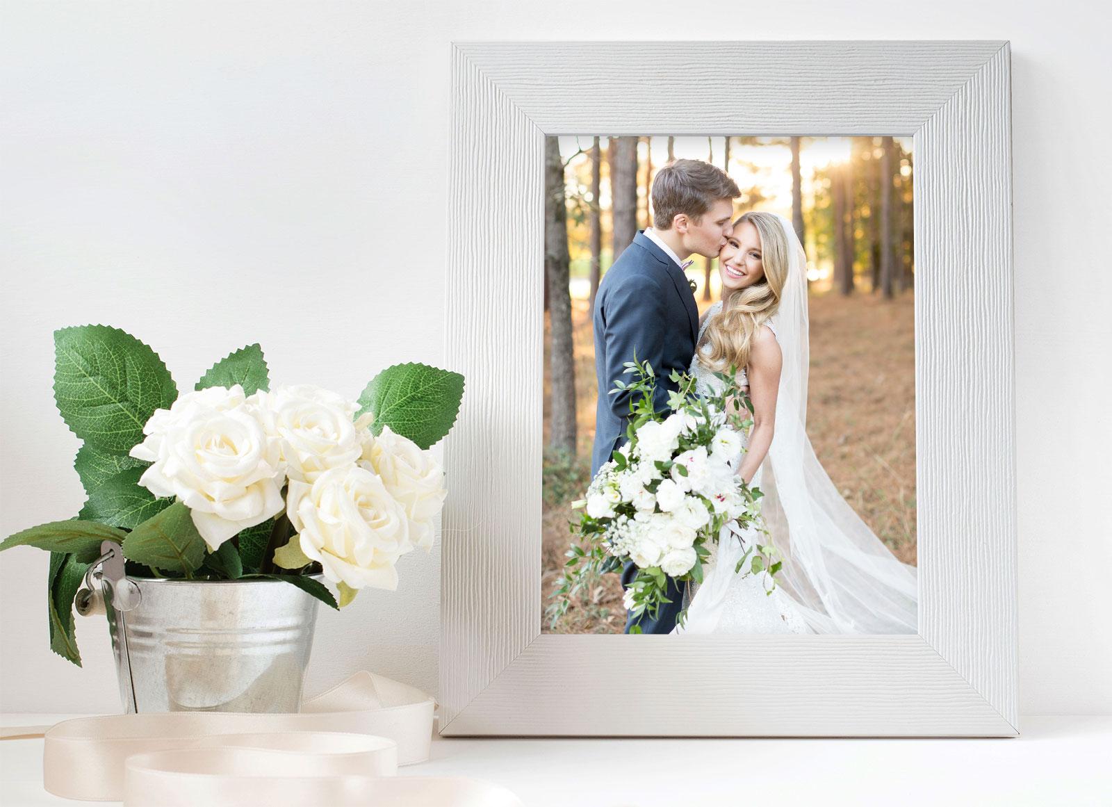 Free Beautiful Photo Frame PSD Mockup for Photos, Illustrations ...