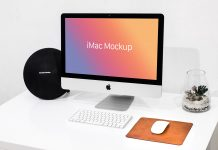 Free-Apple-iMac-Mockup-on-White-Desk