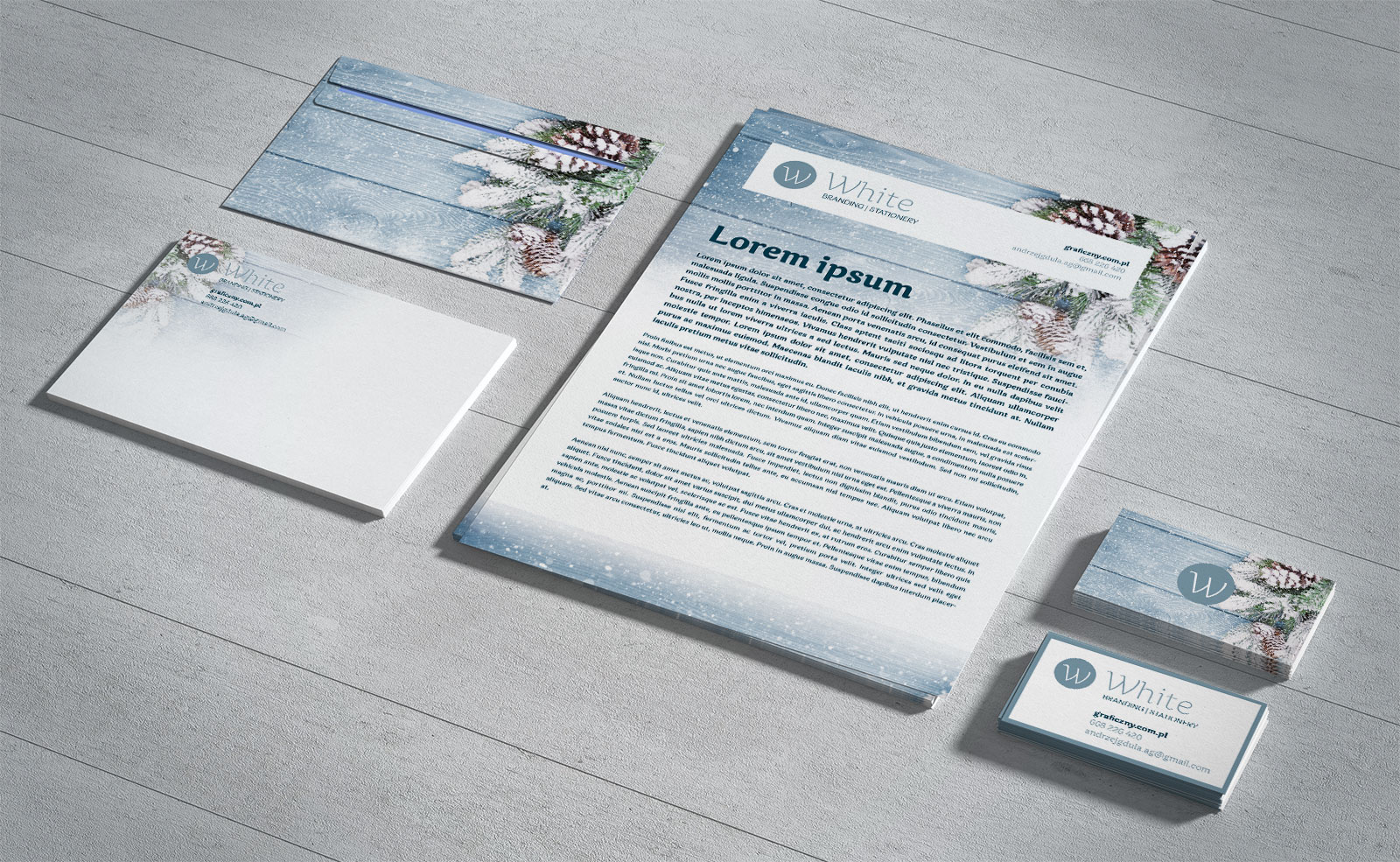 Free Branding Corporate Identity Stationery Mockup (1)
