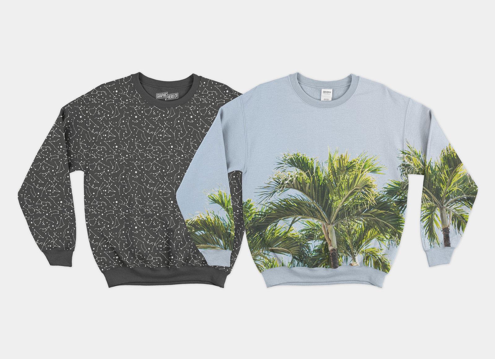 Free front back crewneck sweatshirt mockup psd good mockups free front back crewneck sweatshirt mockup psd maxwellsz