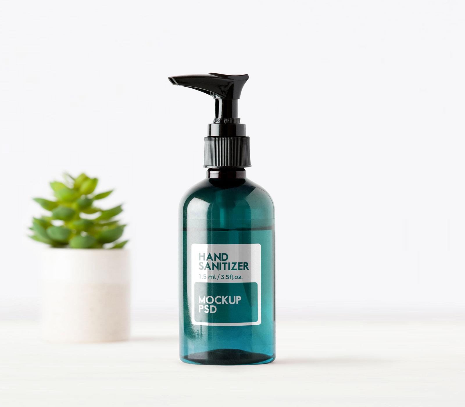 Free-Hand-Sanitizer-Pump-Bottle-Mockup-2