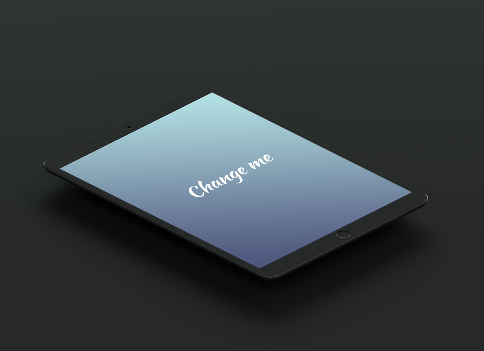 Free-Isometric-Matte-Black-iPad-Pro-10-5-Mockup-PSD