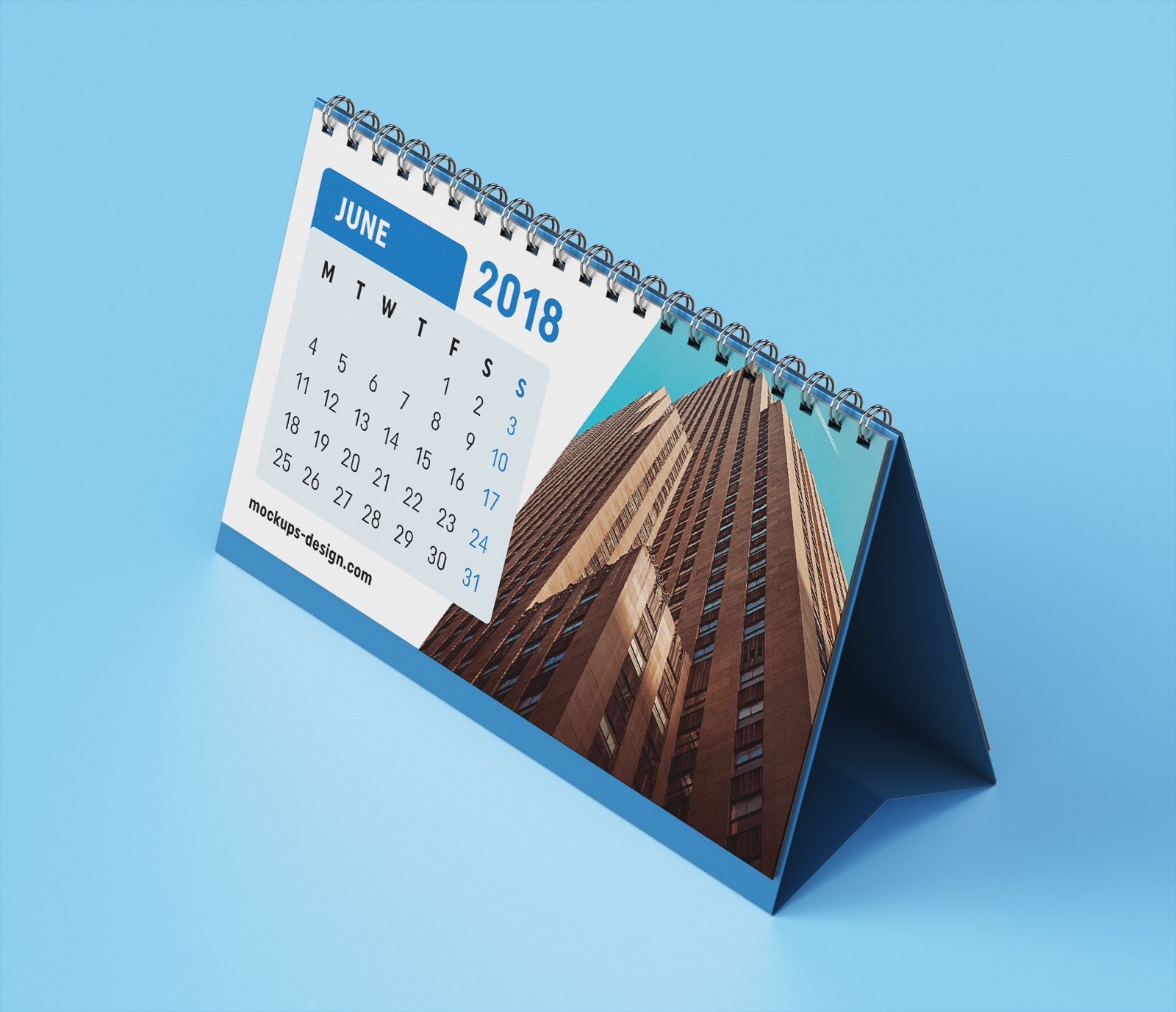 Table Calendar Mockup : Free premium desk table calendar mockup psd good mockups