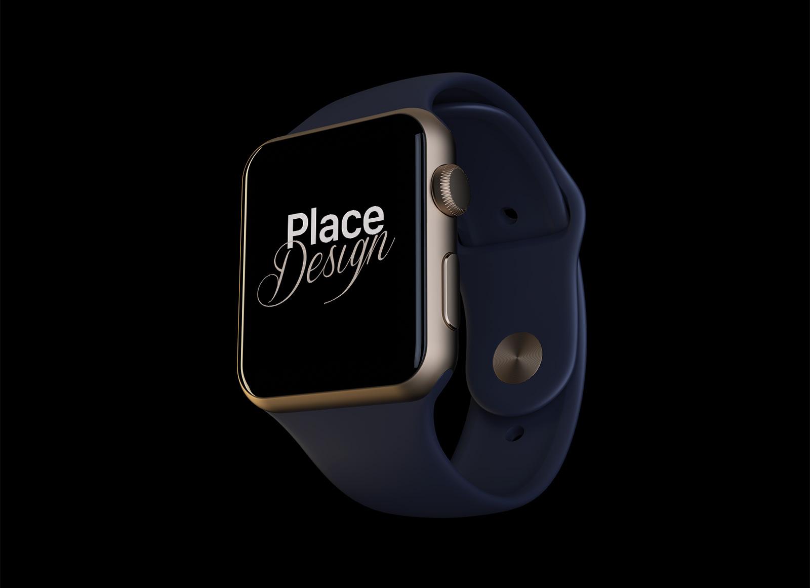 Free-Realistic-Apple-Watch-Series-2-Mockup-PSD