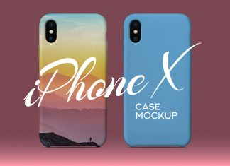 Free-iPhone-X-Silicon-Case-Back-Cover-Mockup-PSD-file