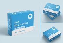 Free-Box-Packaging-Mockup-PSD-Set