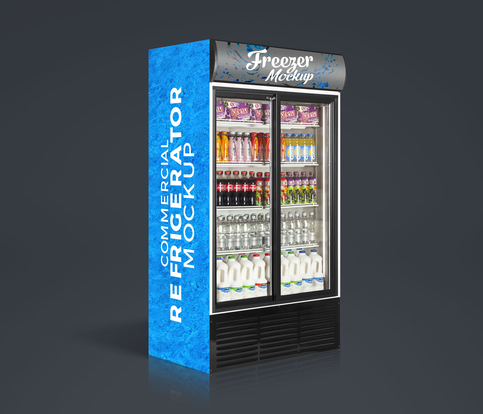 Free-Commercial-Refrigerator,-Cooler-Freezer-Mockup-PSD-3