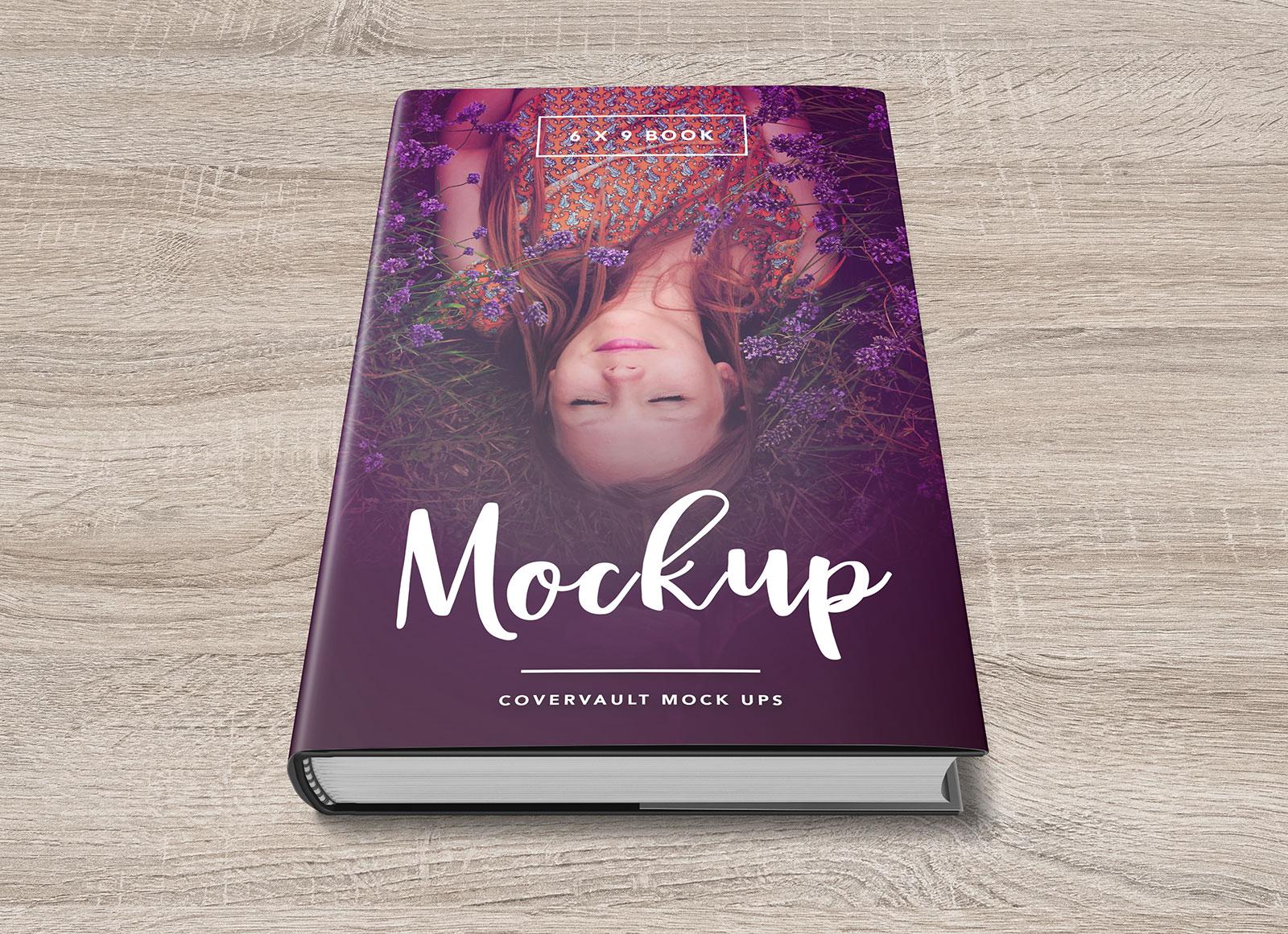 Children S Book Cover Mockup : Free hardcover dust jacket book mockup psd good mockups