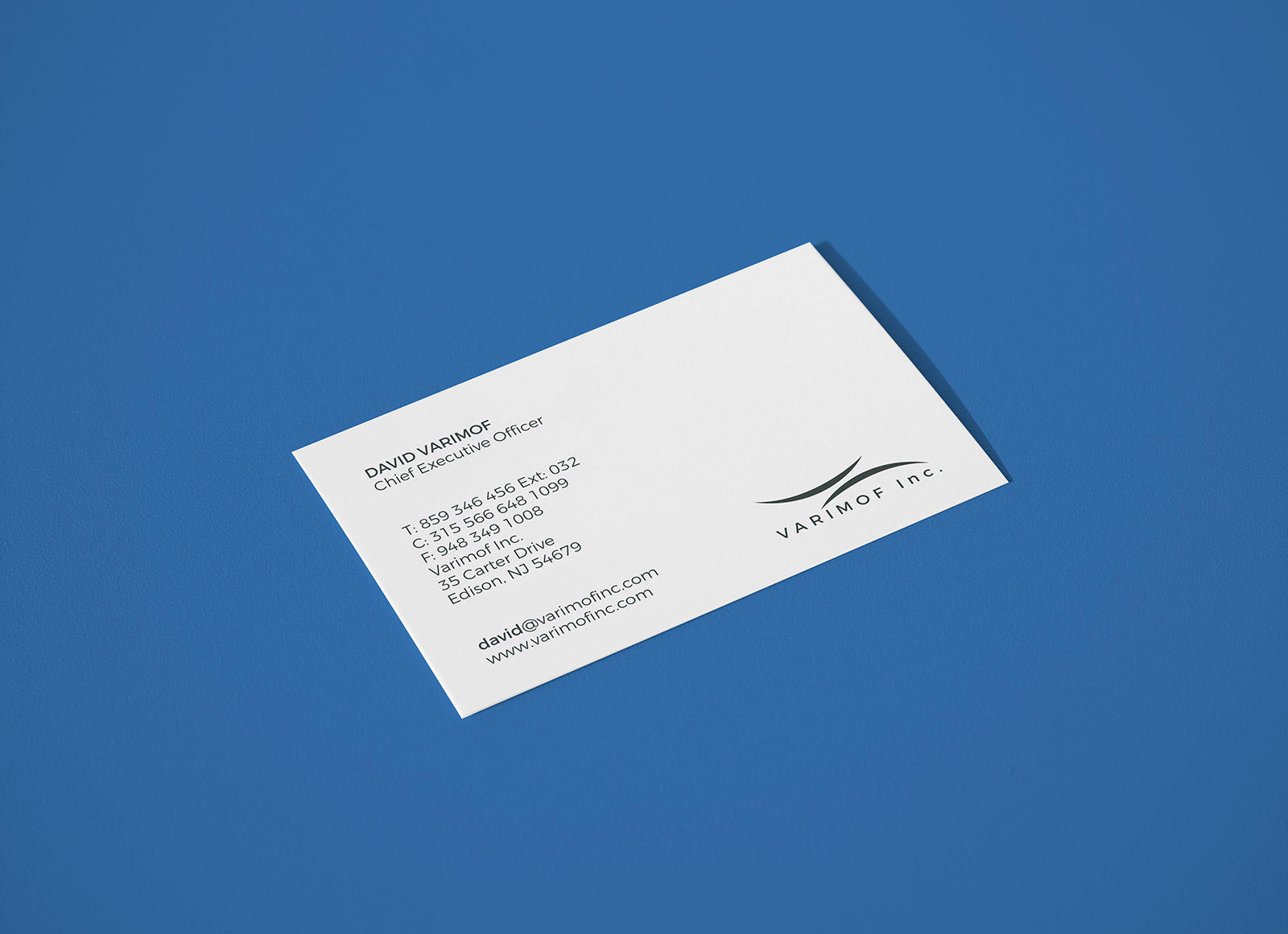 Free Premium Business Card Mockup PSD File - Good Mockups