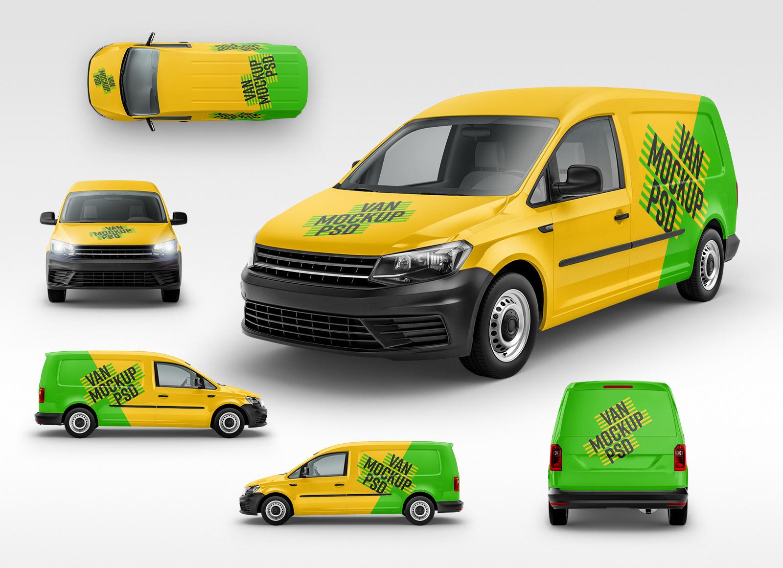 vehicle mockup psd free panel van vehicle branding mockup psd - good mockups