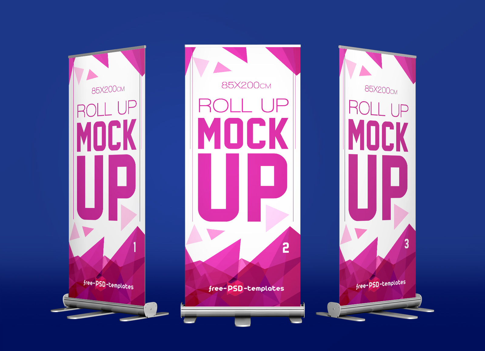 Exhibition Stand Mockup Psd Free : Free exhibition roll up standing banner mockup psd good mockups