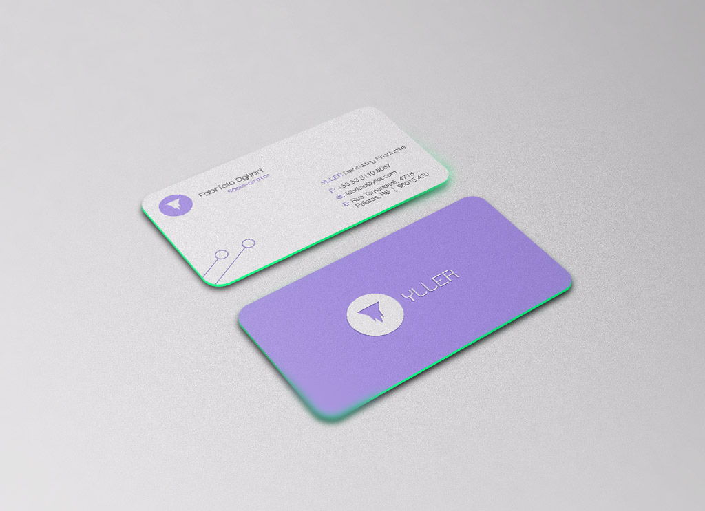 Free Rounded Corners Front / Back Business Card Mockup PSD - Good ...