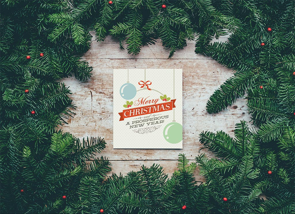 Free single side new year greeting card mockup psd good mockups free single side new year greeting card mockup m4hsunfo