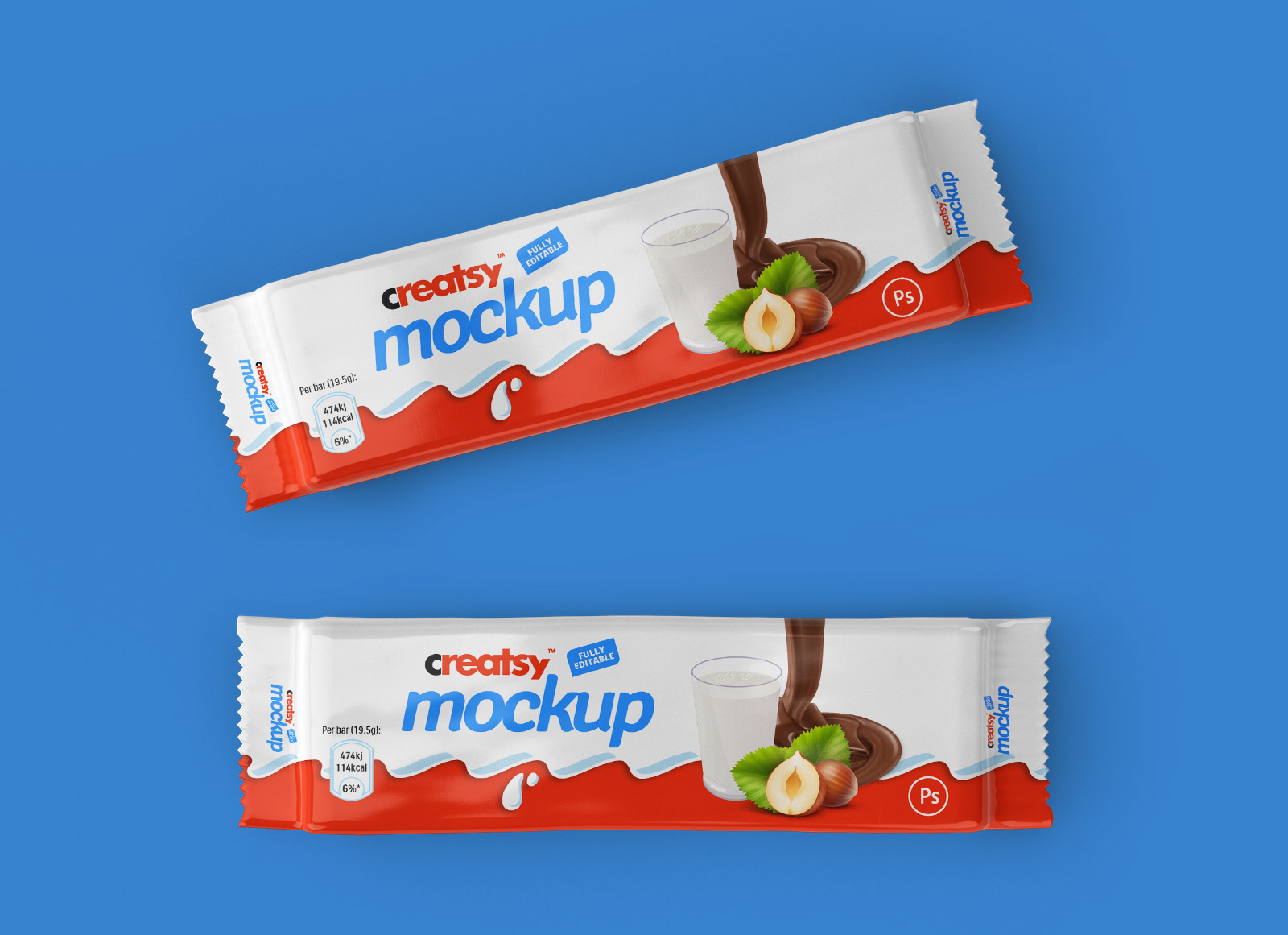 Free-Chocolate-Bar-Wrapper-Packaging-Mockup-PSD