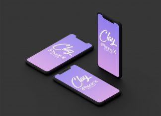 Free-Clay-Apple-iPhone-X-Mockup-PSD-2