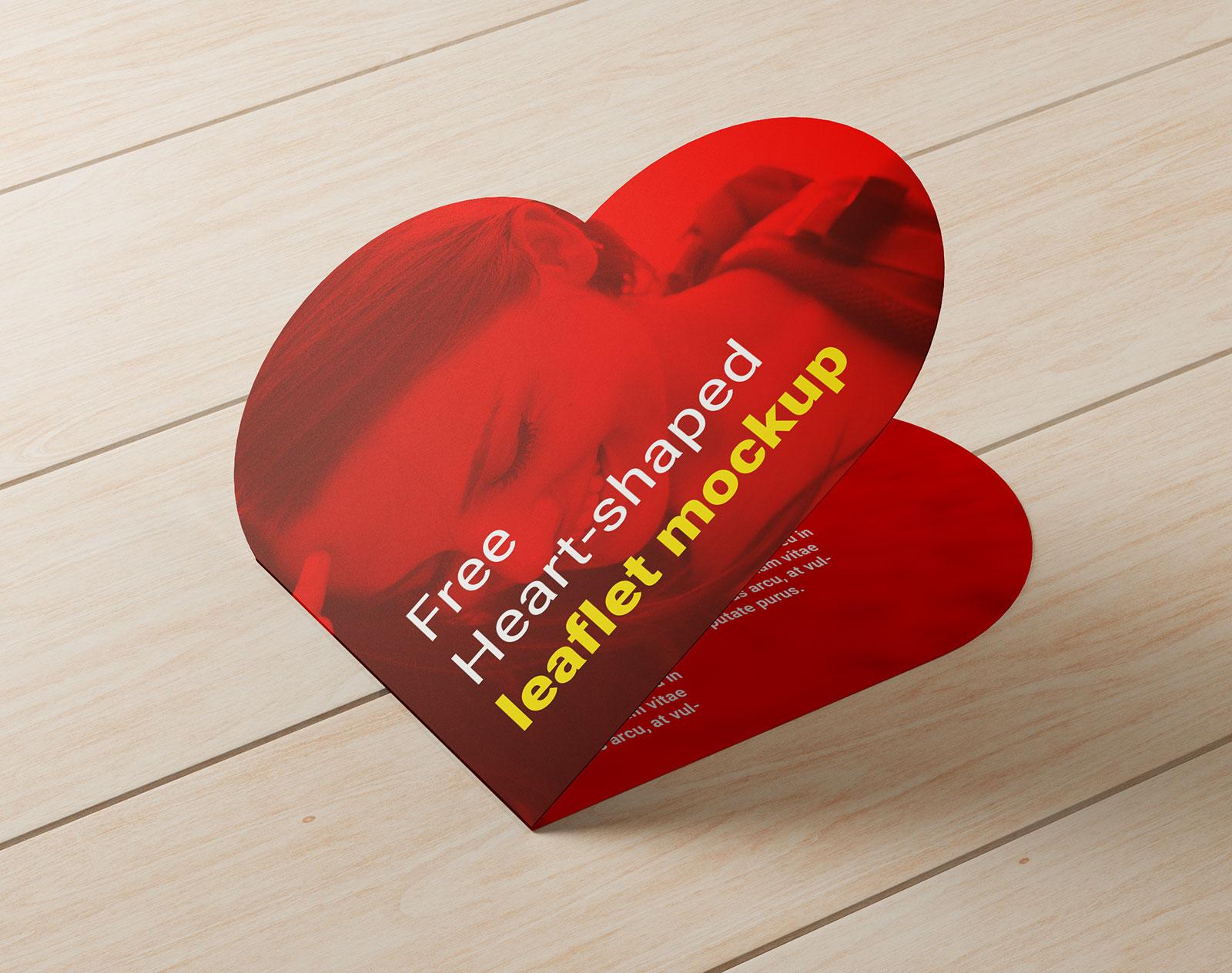 Free-Heart-Shaped-Brochure-Leaflet-Mockup-PSD-3