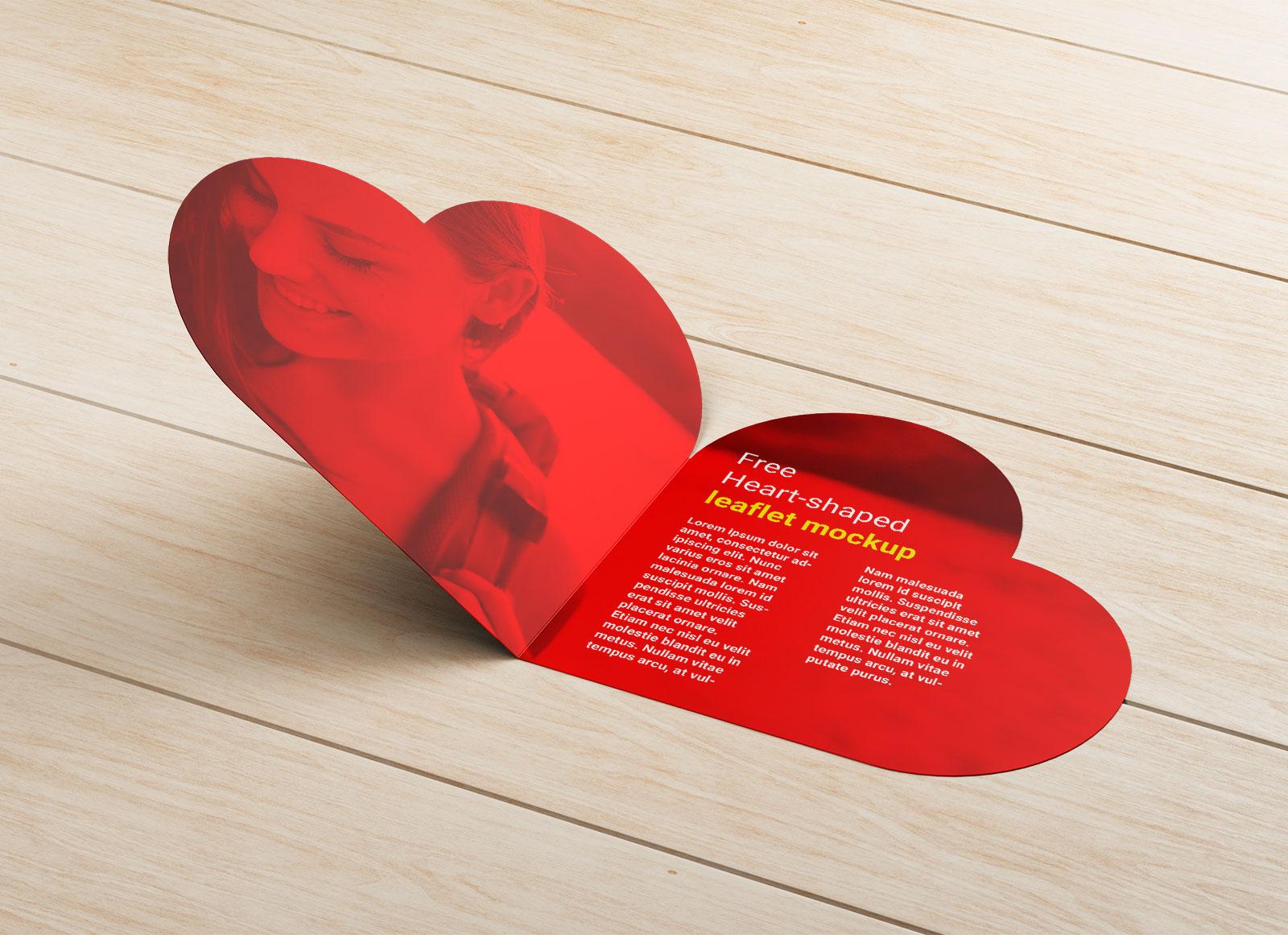 Free-Heart-Shaped-Brochure-Leaflet-Mockup-PSD