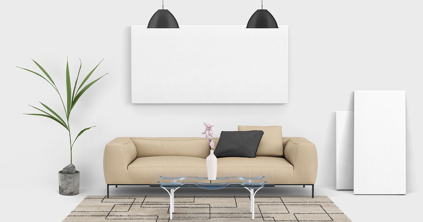 Free-Living-Room-Painting-Wall-Canvas-Mockup-PSD-2