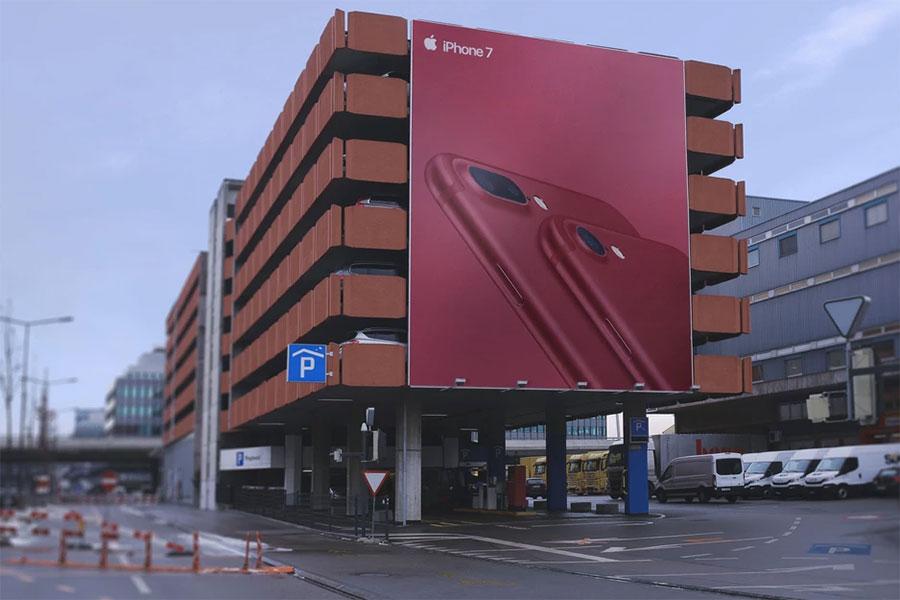 Free Outdoor Building Billboard Mockup PSD (2)