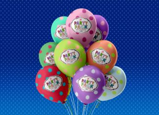 Free-Party-Balloons-mockup-PSD-File