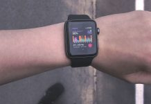 Free Apple Sports Watch Photo Mockup PSD