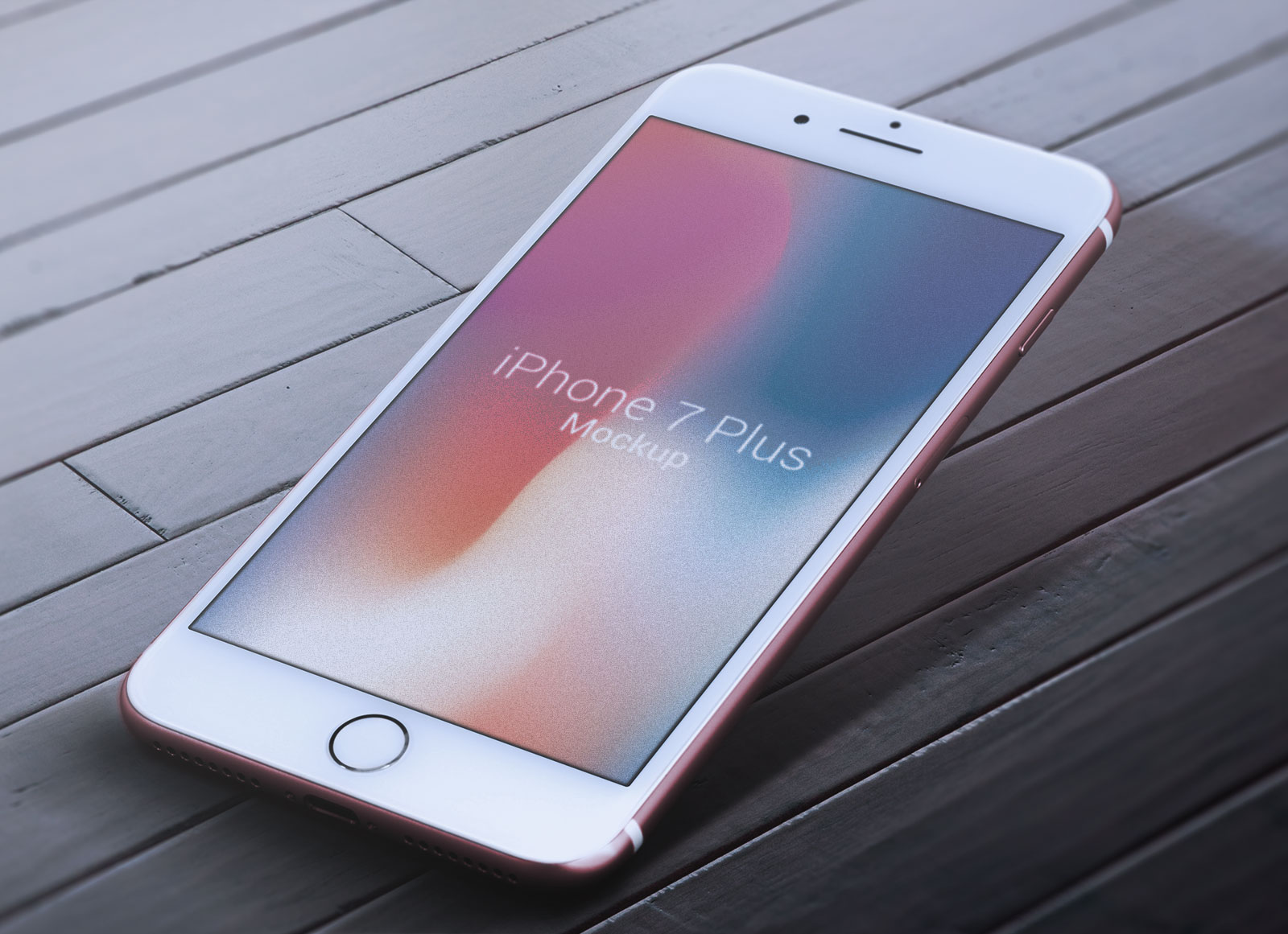 Free-iPhone-7-Plus-Red-Photo-Mockup-PSD