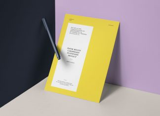 Free-A4-Letterhead---Flyer-Paper-Mockup-PSD