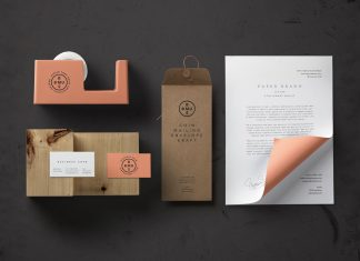 Free-Basic-Stationery-Branding-Mockup-PSD-File