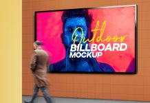 Free-Outdoor-Advertising-Wall-Mounted-Billboard-Mockup-PSD