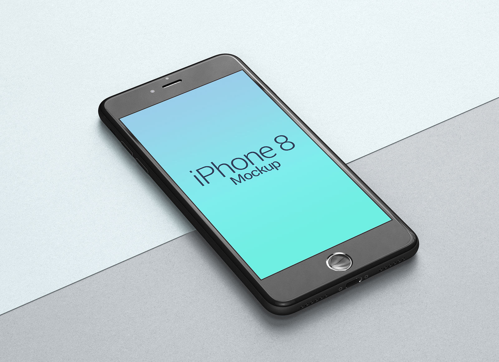 Free-Perspective-Apple-iPhone-8-Mockup-PSD-file