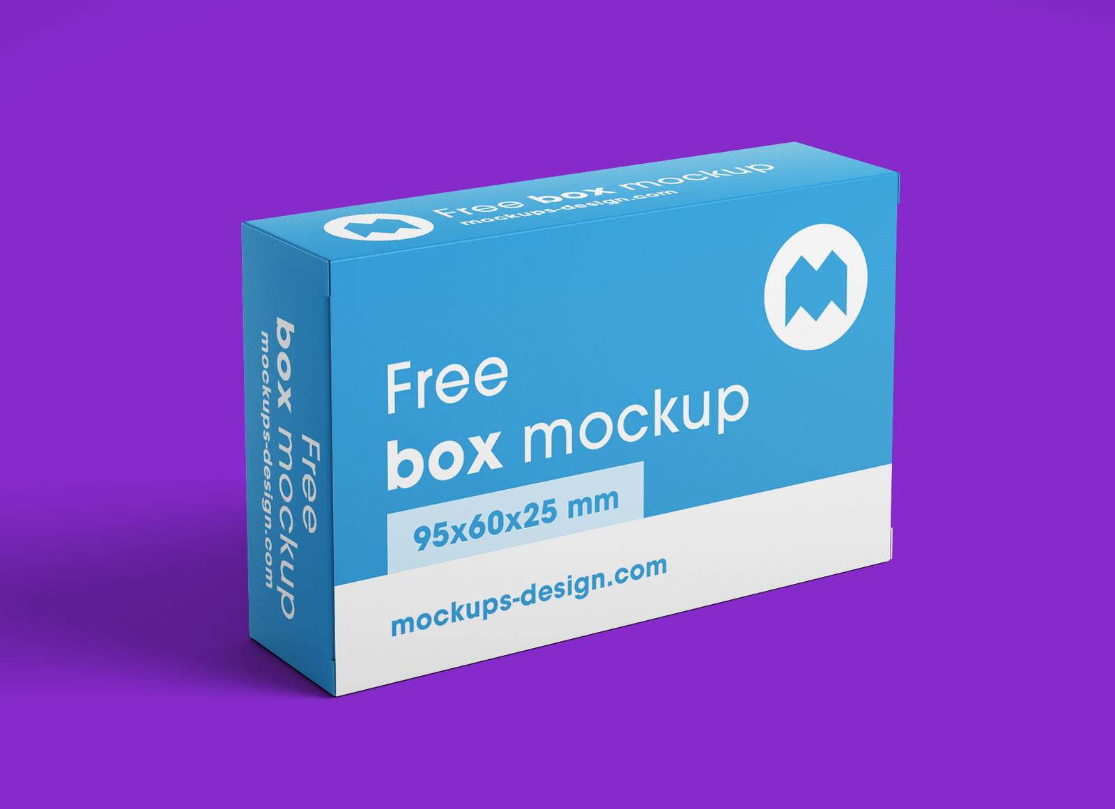 Free Rectangle Box Packaging Mockup PSD Set