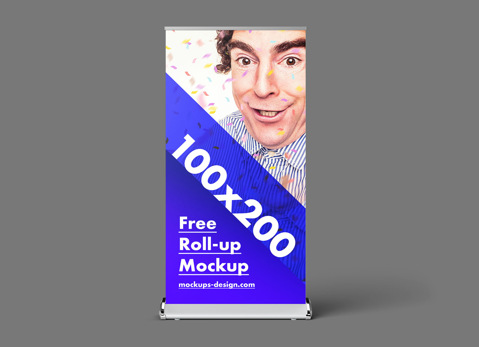 Free-Retractable-Roll-up-Banner-Stand-Mock-up-PSD-2