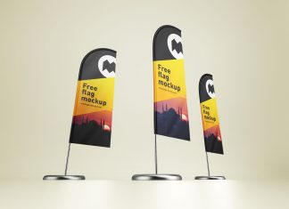 Free-Feather-Flag-Banner-Stand-Mockup-PSD-Set