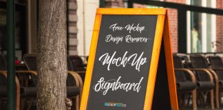Free-A-Stand-Wooden-Chalkboard-Mockup-PSD