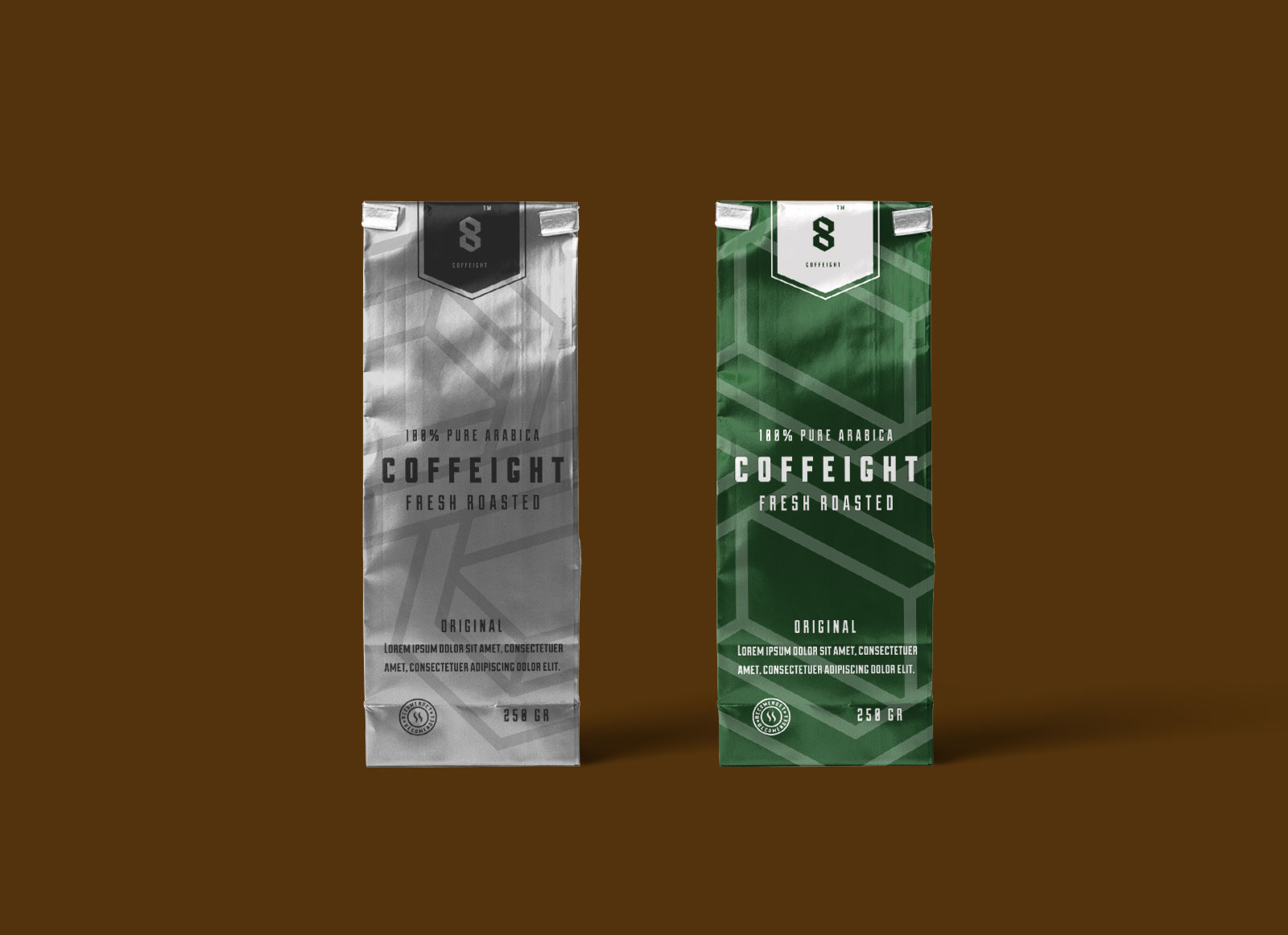 Free Aluminium Coffee Bag Packaging Mockup Psd Good Mockups