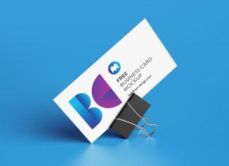 Free-Binder-Clip-Business-Card-Mockup-PSD-Set-2