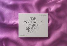 Free a7 bi fold greeting invitation card mockup psd set good free greeting wedding invitation card mockup psd stopboris Gallery