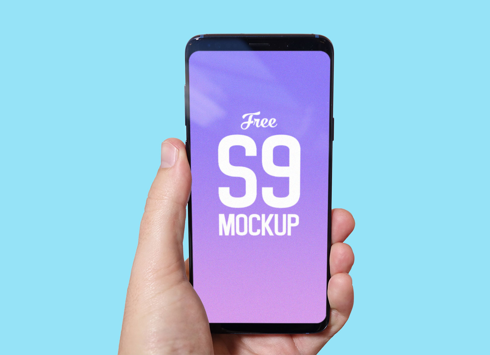 Free-Hand-Holding-Samsung-Galaxy-S9-Mockup-PSD