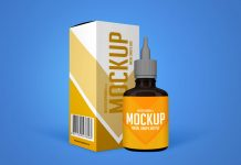 Free-Nasal-Drops-Bottle-&-Packaging-Mockup-PSD
