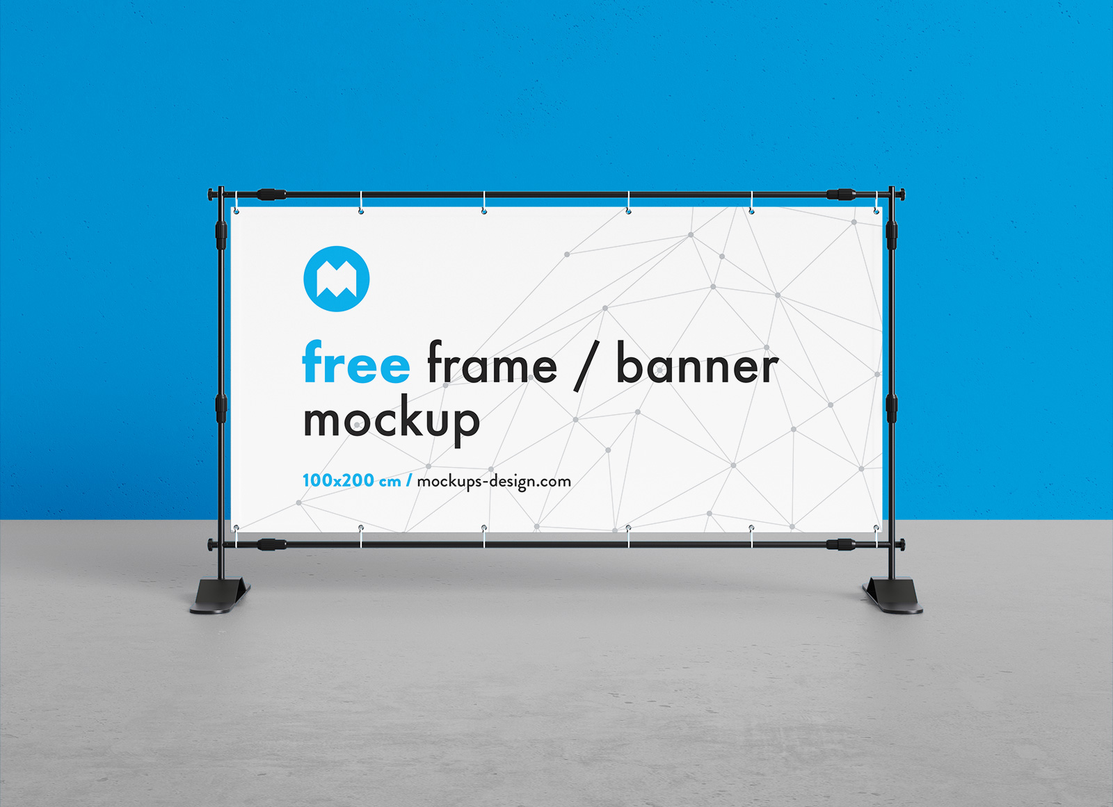 Free-Rectangle-Frame-Standing-Banner-Mockup-PSD-2