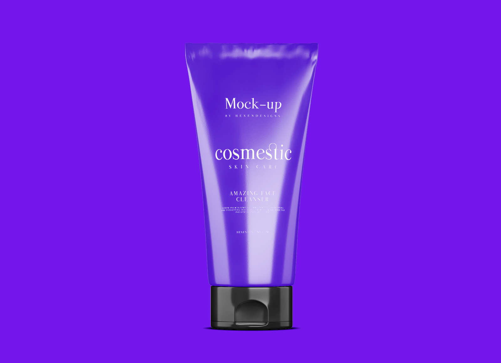 Free Cosmetic Cream Mockup Psd