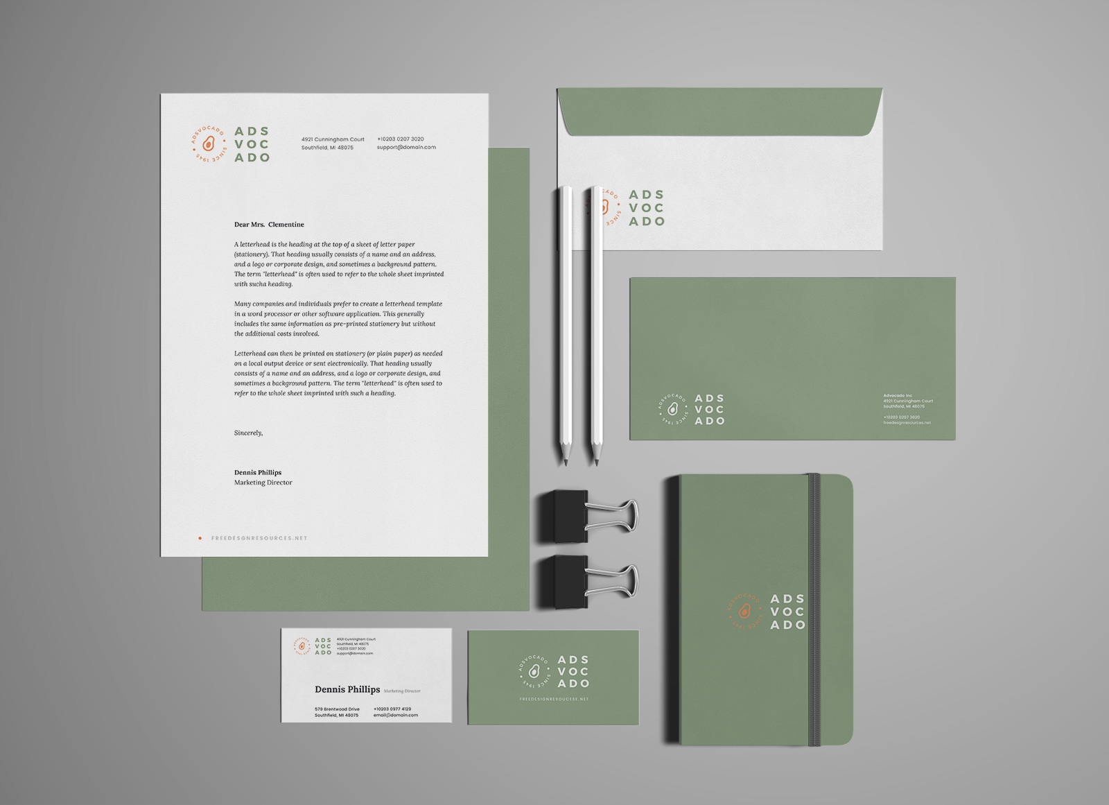 Free-Premium-Corporate-Identity-Mockup-PSD