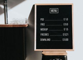 Free-Restaurant-Menu-Chalkboard-Mockup-PSD