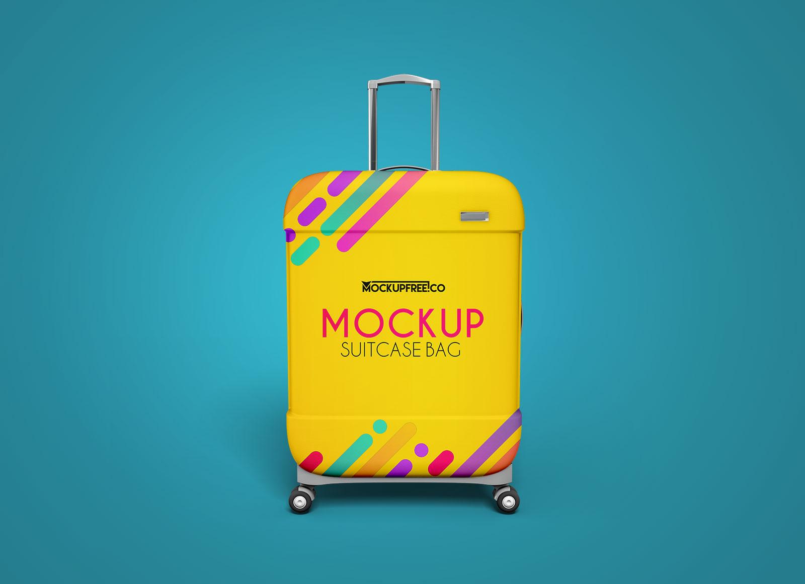 Free-Travel-Suitcase-Luggage-Bag-Mockup-PSD-Set