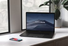 Free-3D-Rendered-iPhone-X-&-Macbook-Pro-Mockup-PSD